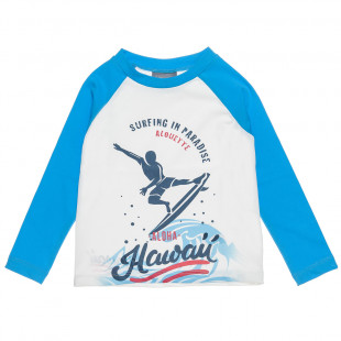 Long Sleeve UV Protection Swim T-Shirt (6-10 years)