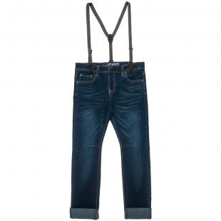 Παντελόνι τζιν με τιράντες (6-16 ετών)