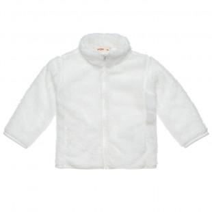 Ζακέτα γούνινη με τσέπες (Κορίτσι 9 μηνών-3 ετών)