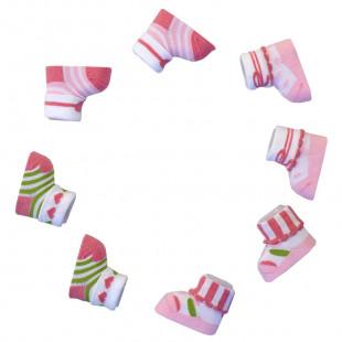 Pink 4 pack socks - Gift Box