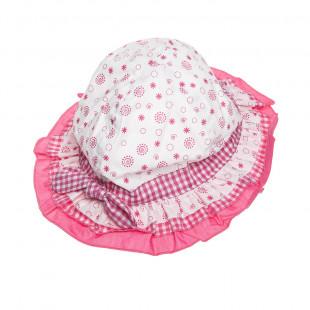 Καπέλο με βολάν (1-2 ετών)