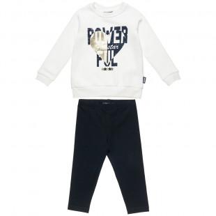 Σετ Φόρμας Five Star μπλούζα με τύπωμα και κολάν (12 μηνών-5 ετών)