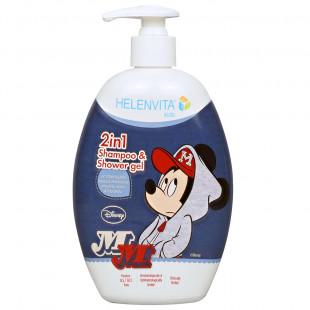 Σαμπουάν & Αφρόλουτρο Disney Mickey Mouse (500ml)