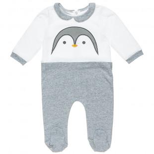 Φορμάκι Tender Comforts με κέντημα πιγκουινάκι (3-9 μηνών)