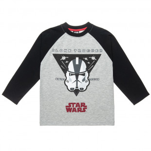 Long Sleeved Top Star Wars (2-5 years)
