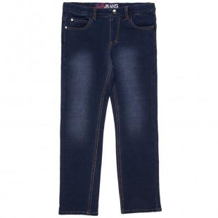 Παντελόνι τζιν ελαστικό σε ίσια γραμμή (6-16 ετών)