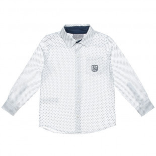 Cotton printed fabric shirt (6-16 years)