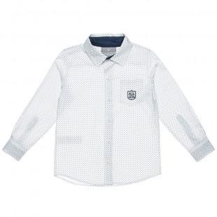 Βαμβακερό εμπριμέ πουκάμισο (6-16 ετών)