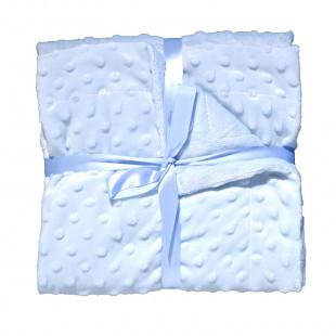 Κουβέρτα με ανάγλυφο μοτίβο (80x110εκ)