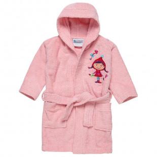 Pale pink bathrobe (2-6 years)