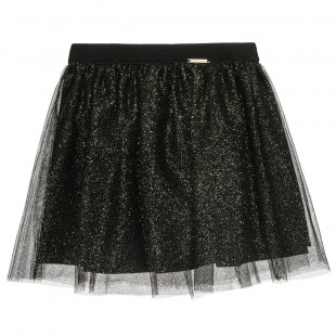 Skirt with glitter all over (2-5 years)