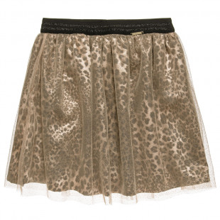 Skirt with glitter and tulle (6-12 years)