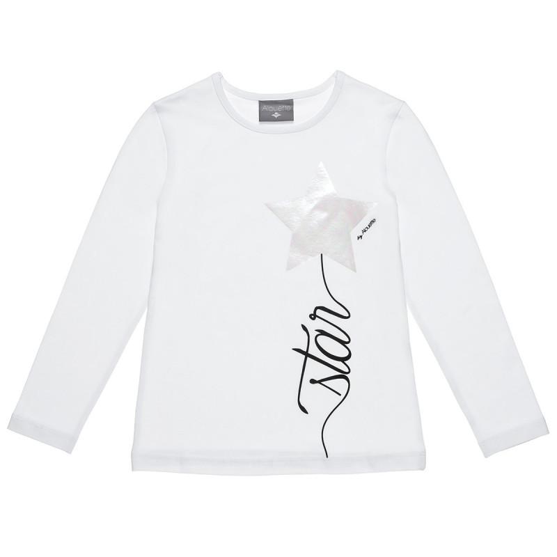 Μπλούζα με τύπωμα αστέρι (6-14 ετών)