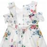 Φόρεμα με φλοράλ μοτίβο και ζώνη (2-5 ετών)