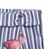Παντελόνι ριγέ με all over μοτίβο (6-12 ετών)