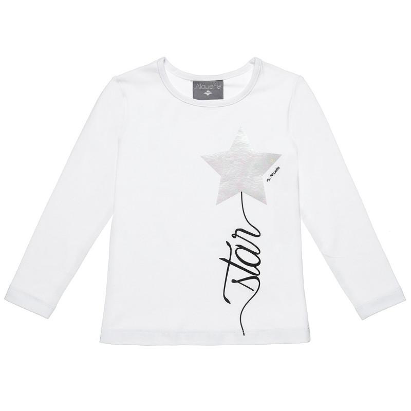 Μπλούζα με τύπωμα αστέρι (18 μηνών-5 ετών)