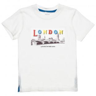 Μπλούζα με στάμπα London (12 μηνών-3 ετών)