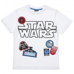Μπλούζα Star Wars με τύπωμα (6-14 ετών)