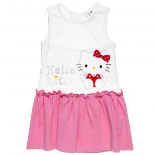 Φόρεμα αμάνικο Hello Kitty (2-5 ετών)