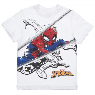 Μπλούζα Spiderman με τύπωμα (3-10 ετών)