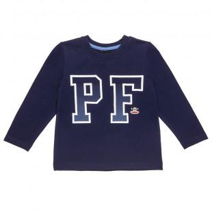 Μπλούζα Paul Frank με τύπωμα και κέντημα (18 μηνών-5 ετών)