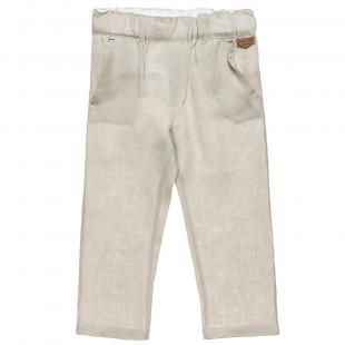 Παντελόνι λινό με τσέπες (2-5 ετών)