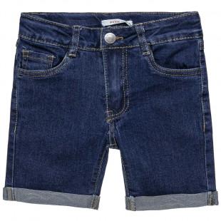 Βερμούδα τζιν με τσέπες (6-16 ετών)