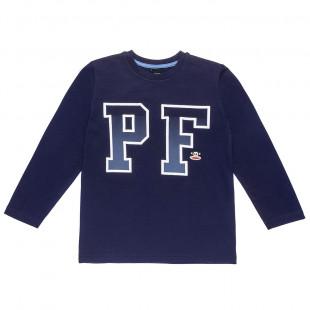 Μπλούζα Paul Frank με ανάγλυφο τύπωμα και κέντημα (6-14 ετών)