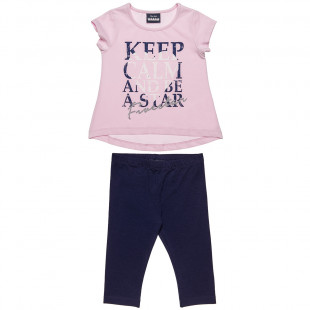 Set Five Star blouse with leggings (12 months-5 years)