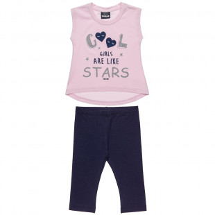 Set Five Star blouse with leggings (!2 months-5 years)