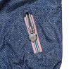 Μπουφάν διπλής όψης με φλοράλ επένδυση και κουκούλα (12 μηνών-5 ετών)