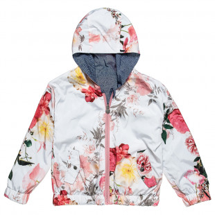 Jacket double face floral inside (6-16 years)