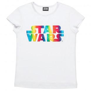 Blouse Star Wars foil print (6-16 years)