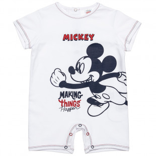 Babygrow Disney Mickey Mouse with truks (1-9 months)