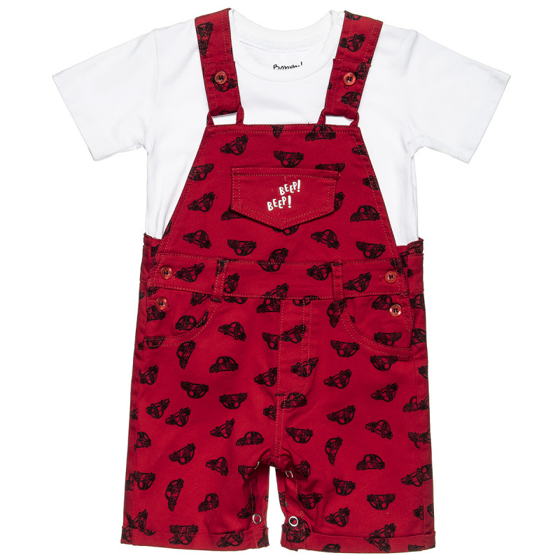 Overall with blouse (3-18 months)