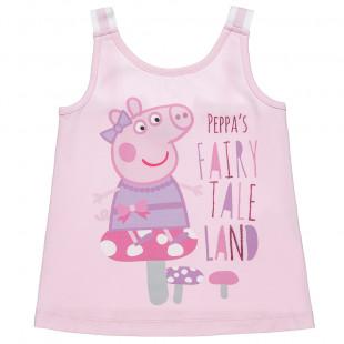 Μπλούζα Peppa Pig με glitter (2-5 ετών)