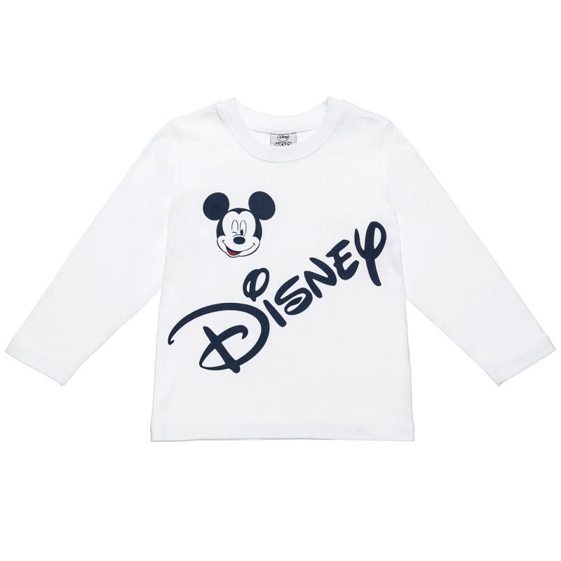 Mπλούζα Disney Mickey Mouse με τύπωμα Mickey Mouse (18 μηνών-5 ετών)