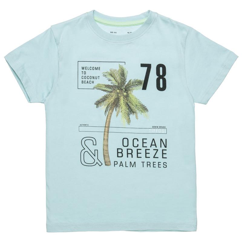 Μπλούζα με τύπωμα και lettering (6-16 ετών)