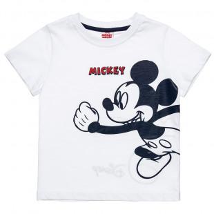 Μπλούζα Disney Mickey Mouse με τύπωμα (2-5 ετών)