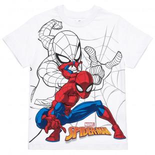 Μπλούζα Marvel Spiderman με τύπωμα (3-10 ετών)