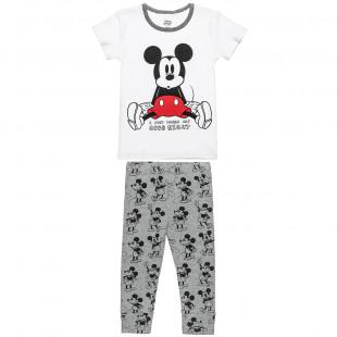 Πυτζάμες Disney Mickey Mouse μπλούζα με κολάν(12 μηνών-3 ετών)