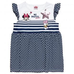 Φόρεμα Disney Minnie Mouse με all over αστεράκια (2-5 ετών)