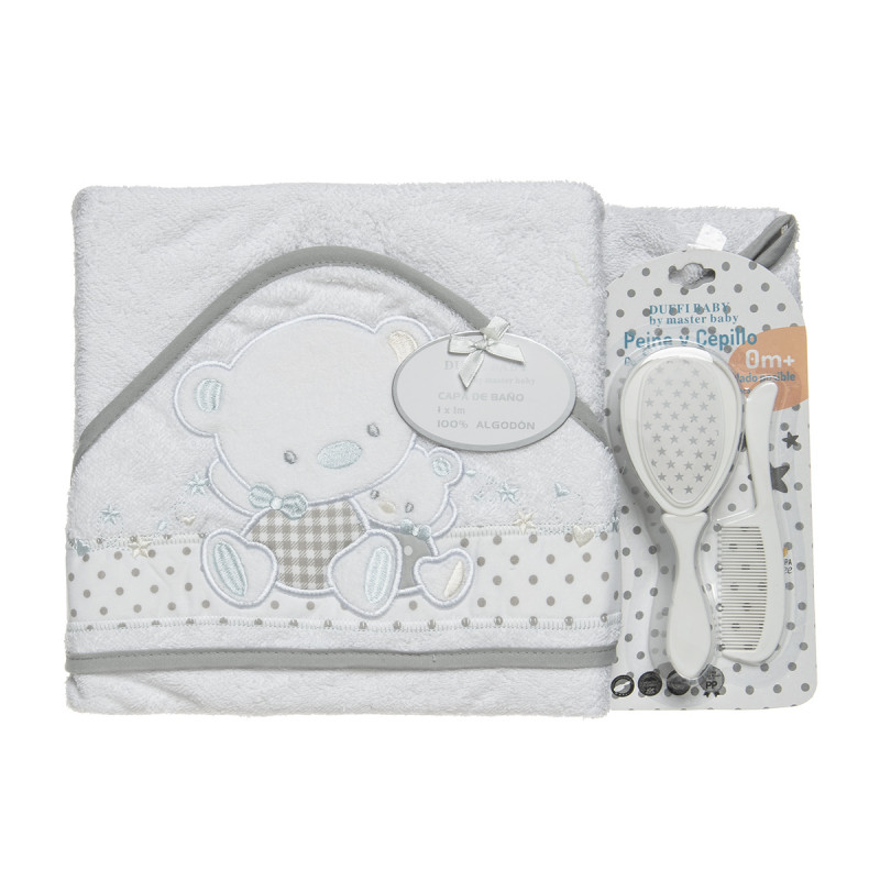 Set included towel bath,comb and brush