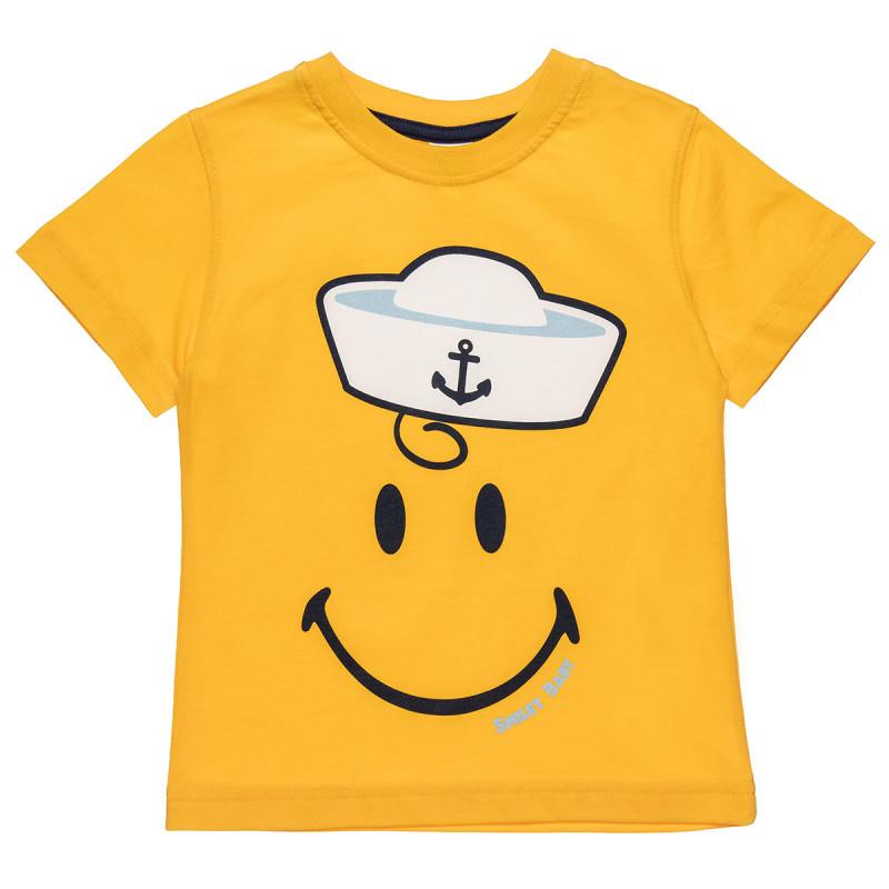 Μπλούζα Smiley με τύπωμα (12 μηνών-5 ετών)