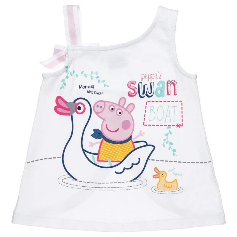 Μπλούζα Peppa Pig με τύπωμα μπροστά (2-5 ετών)