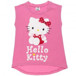 Μπλούζα Hello Kitty με τύπωμα (2-5 ετών)