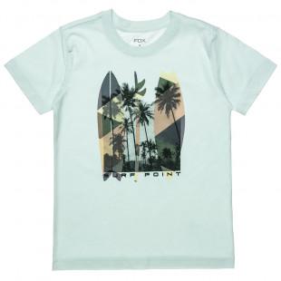 """Μπλούζα με τύπωμα """"Surf"""" (6-16 ετών)"""