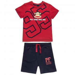Σετ Paul Frank μπλούζα με τον Julius και βερμούδα (12 μηνών-5 ετών)