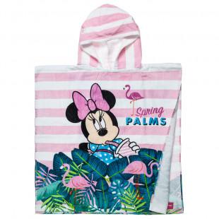 Πόντσο Πετσέτα Θαλάσσης Disney Minnie Mouse (60X12 cm)