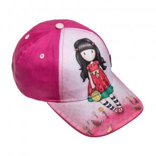 Καπέλο jockey Santoro friends (6-8 ετών)